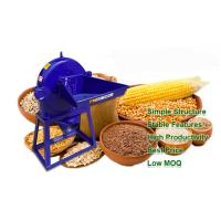 China Light Weight Home Blue Malt Grain Mill For Beer Making , Maize Milling Machine on sale