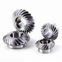 Buy cheap 80mm Diameter Spiral Bevel Gear , Small Bevel Gears For Automations Smooth Operation from wholesalers