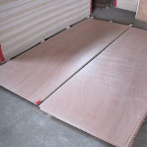 China Natural Wood Veneer Door Skins 610 - 1050mm Width For Interior Door Leaf on sale
