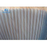 China Good Flexibility Plisse Fly Screen , Smooth Sliding Retractable Fly Screens wholesale