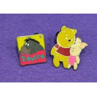 China Hard Enamel Lapel Pins With Cute Cartoon Image For Custom Lapel Pins Small Order wholesale