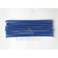 China Light Weight Coiled Security Tethers PU TPU Material With Screw Terminal Connnectors wholesale
