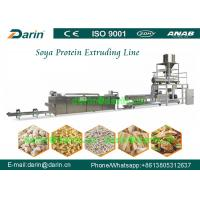 China Continuous and automatic Extruded Isolated Soya Protein Food Extruding machine wholesale