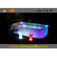 Nontoxic and Peculiar smell LED Lighting Furniture for Bars & bar table