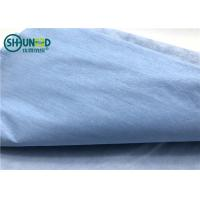 China One layer woodpulp nonwoven compound one layer polyester waterproof spunlace nonwoven fabric for hospital covering cloth on sale