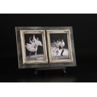 """China 5""""x7"""" Front Floating Openings Tabletop Photo Frames In Antique Black Board Background wholesale"""