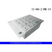 China Dust Proof Usb Numeric Keypad , Metal Keypad With 4x4 Matrix and Flush Keys wholesale