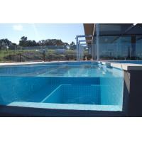 China Light Green Diy Frameless Glass Pool Fence 15 mm For Swimming wholesale