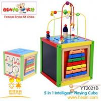 China Wooden Toys Intelligent Playing Cube on sale