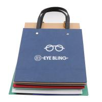 China Multiple Color Custom Printed Paper Bags Matt / Glossy Lamination Surface Handling on sale