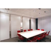 China Sliding Office Partition Walls / Decorative Conference Room Dividers on sale