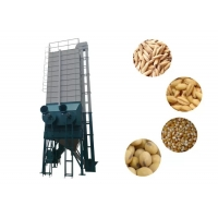 China 30 Ton Rice Grain Dryer Machine Low Speed Auger Type For Rice / Wheat on sale