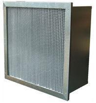 Buy cheap Вашабле высокотемпературная мини высокая эффективность воздушного фильтра Хепа Плеат с плиссированный/Клапбоард from wholesalers