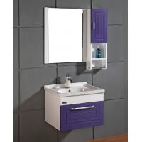 China modern bathroom vanity combo with Quartz countertop on sale
