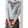 China Winter handmade knit wool sweater designs knitwear for Women, Long Sweater Fashion for Old Women,Wool Loose Knitted Swea wholesale