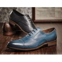 China Durable 3cm Heel Mens Leather Dress Shoes , Party Wear Shoes For Mens wholesale