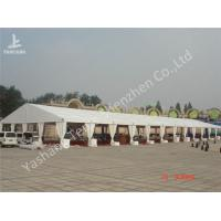 Buy cheap 20M Span Large Outdoor Party Tents For Rent , Aluminium Frame White Party Marquee from wholesalers