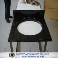 China Absolute Black Sink Countertop, Black Granite Sink Countertop wholesale