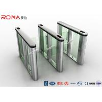 China RFID Reader Turnstile Access Control System Speed Gate 30~40 Persons / Min wholesale