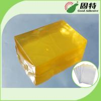 China Synthetic polymer resin Medical Dressing Tape Pressure Sensitive Hot Melt Glue Yellow Transparent Color wholesale