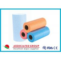 China Colorful Printing Spunlace Non Woven Fabric Roll For Household Cleaning on sale