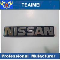 China Black Chrome Original Label Sticker Custom Car Emblems For Nissan wholesale