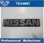 China Black Chrome Original Label Sticker Custom Car Emblems For Nissan wholesale