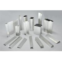 China Frosted Fabric Aluminum Window Profiles / Aluminum Glass Door Frame on sale