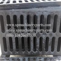 """China OEM custom new deign product 19-1/2"""" L x 11-3/4"""" W x 3/4"""" H cast iron heavy traffic channel drains grate wholesale"""