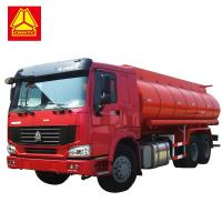 China 371HP 336HP Fuel Tank Tanker  ,  Sinotruk Howo 20000 Liters 6000 Gallon Diesel Oil Transporter wholesale