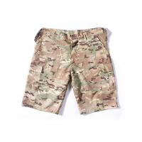 China Summer Tactical Quick Dry Cargo Shorts , Cool Camo Cargo Shorts For Men on sale