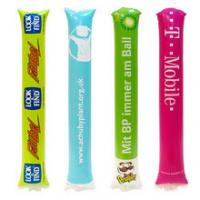 China Advertising Promotional PE Inflatable Cheering Sticks on sale