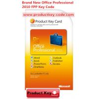 China Microsoft Office Product Activation Key For Brand new Office Professional 2010 Product Key FPP 2 PCs wholesale