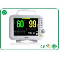China Single / Double IBP 6 Multi Parameter Patient Monitor For Adult / Pediatric / Neonate wholesale