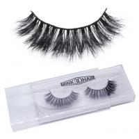 Buy cheap Hand Made eyelashes human hair factory from wholesalers
