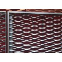 China Durable Steel Expanded Metal Mesh For Building Security 50 X 200MM Hole Size wholesale