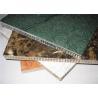 Precision +/-0.1mm Metal Honeycomb Wall Panels Construction Building Materials