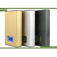 Buy cheap PC Material LCD Power Bank Fast Charge 12000mAh External Battery 20 * 70 * 110mm from wholesalers