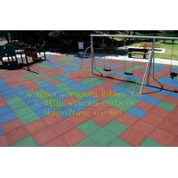 China Playground rubber flooring,Playground rubber tiles,Square rubber tile,Qingdao Guangneng wholesale