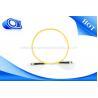 China Câble optique recto de la fibre OM3 de corde de correction de St de Sc de mode unitaire pour des LANs wholesale