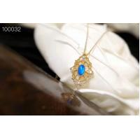 China Adjustable Length Pendant Necklaces For Women 4 x 6mm Opal Size XSN100032 wholesale