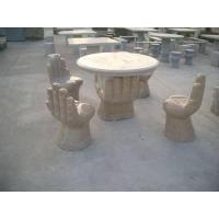 China Stone Table And Bench wholesale