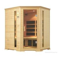 China 4P western red cedar Far Infrared Sauna with five corners wholesale