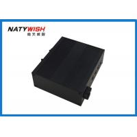 China IP40 Industrial Ethernet Switch Din Rail Mount Single Fiber 20KM 1310 / 1550nm wholesale