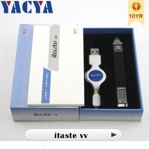 China 510 Electronic Cigarettes Original Variable Voltage Itaste VV Express Kit wholesale