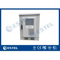 Buy cheap Small Size Outdoor Telecom Equipment Cabinets Customized Sheet Metal Box With Heat Exchanger from wholesalers