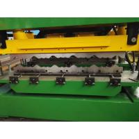China 950 Style Aluminium Metal Steel Roof Use Step Roof Tile Cold Roll Forming Machine wholesale