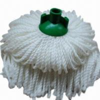 China Microfiber Cut-end/Socket Spring Mop Head, Suitable for Household or Office Use wholesale