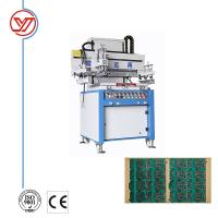 China CE Semi automatic Single Color Screen Printing Machine for PCB on sale