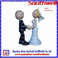 China Wedding cake toppers,wedding gifts,polyresin gifts,wedding decoration on sale